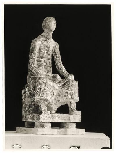 Fritz Wotruba, 'Seated figure', 1947