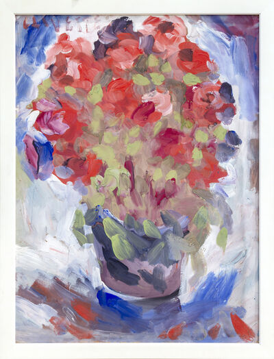 Unknown, 'Vase with Flowers', Mid-20th Century