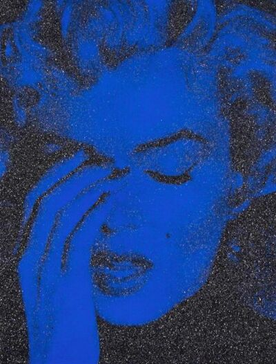 Russell Young, 'Marilyn Crying (Mediterranean Blue)', 2013
