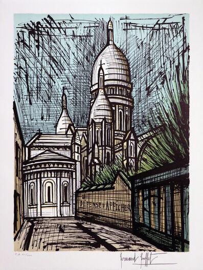 Bernard Buffet, 'Le sacré Coeur de Montmartre', 1988