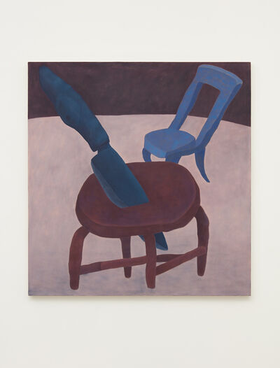 Ginny Casey, 'Stabbed Stool', 2017