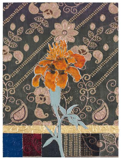 Robert Kushner, 'Dupatta Marigold', 2017