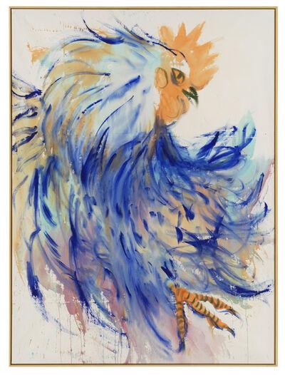 Andrej Dubravsky, 'Big blue rooster', 2019