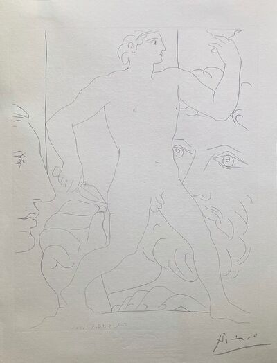Pablo Picasso, 'Sculpture d'un Jeune Homme à la Coupe', 1933