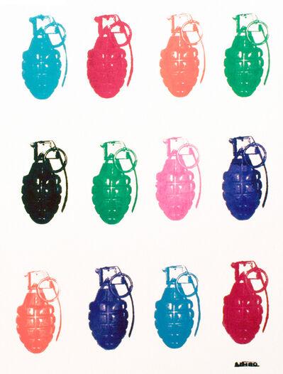 Limbo, 'Grenades on white', 2015