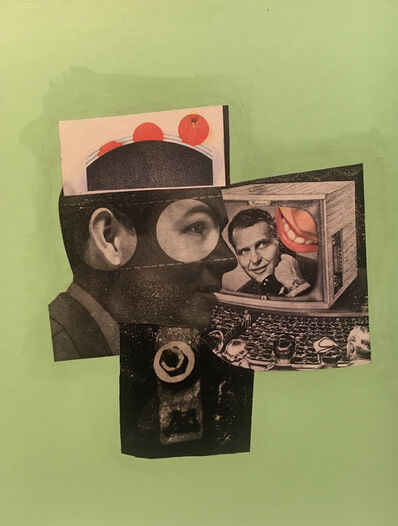 Steve Mennie, 'Untitled (green)', 2021