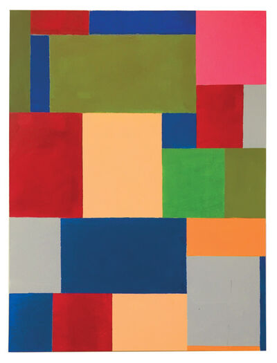 Thornton Willis, 'pink square', 2021