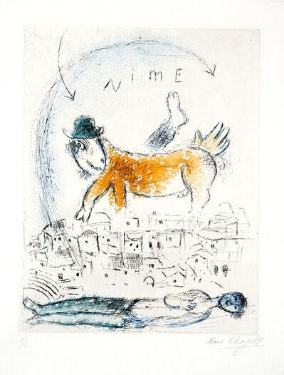 Marc Chagall, 'De Mauvais Sujets', 1958