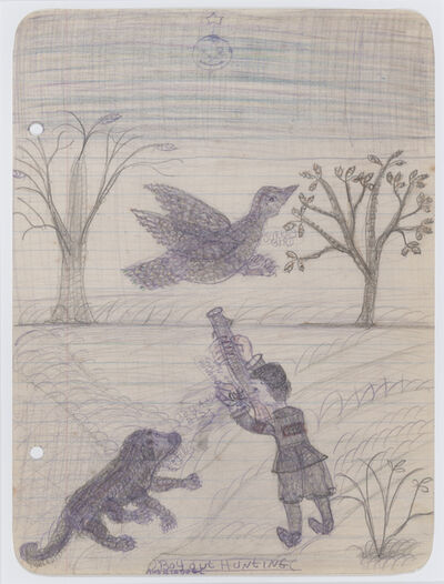 Pearl Blauvelt, 'Untitled (Boy Out Hunting with His Dog)', c. 1940s