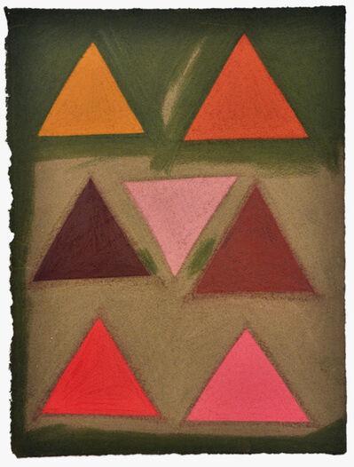 Julian Martin, 'Untitled (colored triangles)', 2015