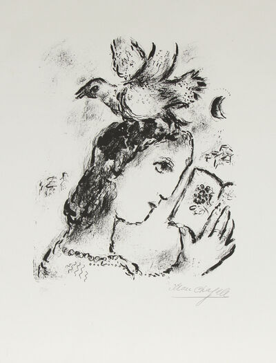 Marc Chagall, 'Homage to Elsa Triolet', 1972
