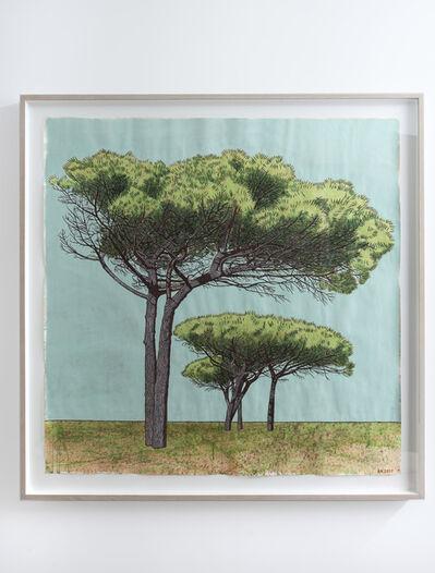 Anton Kannemeyer, 'Pine Trees, Pinelands High School, Cape Town', 2017
