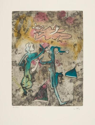 Roberto Matta, 'Centre Noeds - Plate IX', 1974