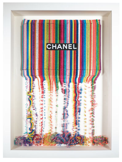 Stephen Wilson, 'Drip Stitch Chanel', 2017