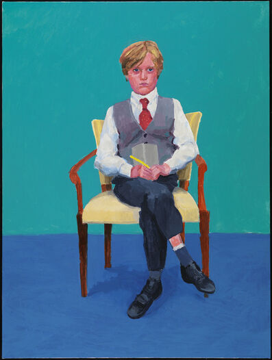 "David Hockney, '""Rufus Hale, 23rd, 24th, 25th November 2015"" from ""82 Portraits and  1 Still-Life""', 2015"