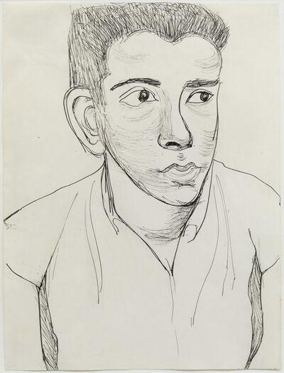 Alice Neel, 'Young Man', 1958