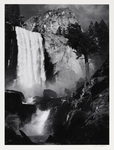 Ansel Adams, 'Vernal Fall, Yosemite, CA', 1948
