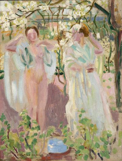 Maurice Denis, 'Deux femmes sous un arbre en fleurs', ca. 1906