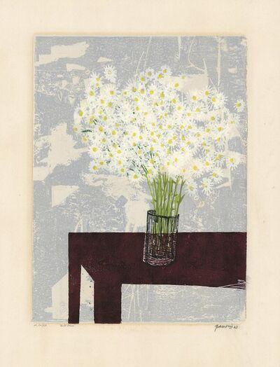 """Antonio Frasconi, 'Daisies (also known as """"Wild Daisies"""").', 1963"""