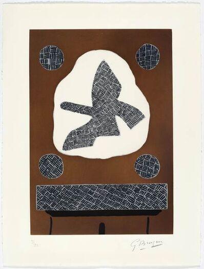 Georges Braque, 'Oiseau de passage', 1961