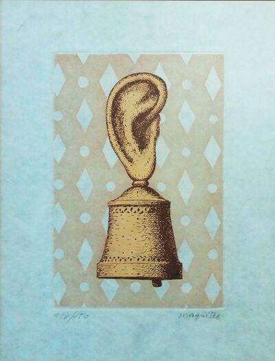 René Magritte, 'LA LECON DE MUSIQUE', 1968