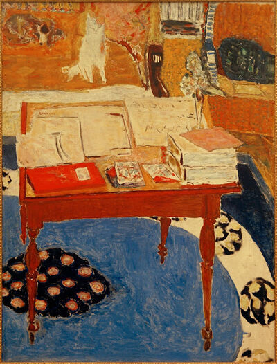 Pierre Bonnard, 'The Work Table', 1926-1937