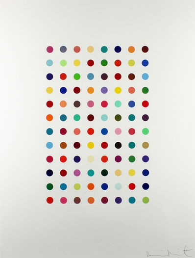 Damien Hirst, 'Xylene Cyanol Dye Solution', 2005