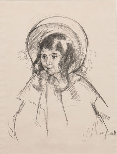 Mary Cassatt, 'Sara Wearing her Bonnet and Coat', c. 1904