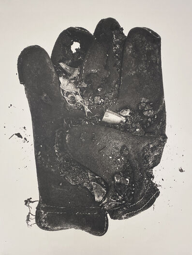 Irving Penn, 'Feather Glove (Small Neg XXX)', 1975