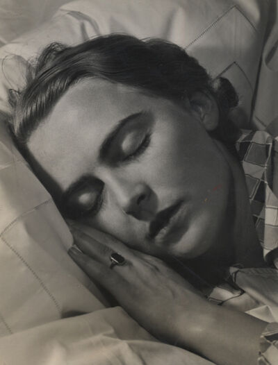 Elisabeth Hase, 'Untitled (sleeping woman)', 1932