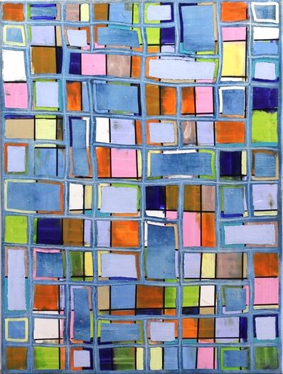 Petra Rös-Nickel, 'Pattern Blue', 2016