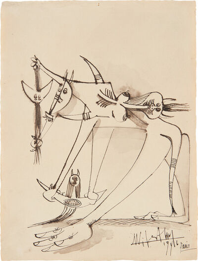 Wifredo Lam, 'Untitled', 1946