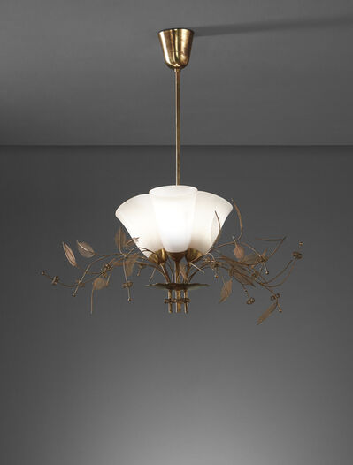 Paavo Tynell, 'Bridal Bouquet ceiling light, model no. 9029/3', 1950s