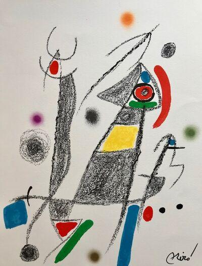 Joan Miró, 'Maravillas con varaciones acrósticas 6', 1975