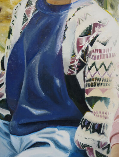Mireille Blanc, 'Petit sweat bleu', 2017
