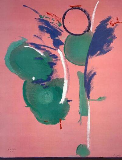 Helen Frankenthaler, 'Mary, Mary', 1990