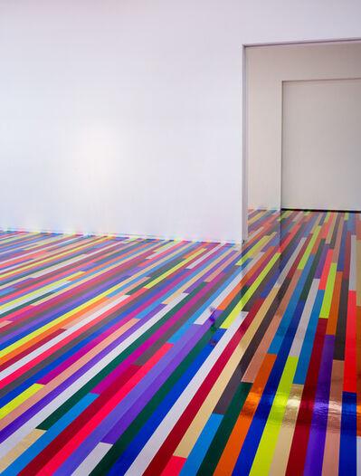Jim Lambie, 'Sound System', 2015