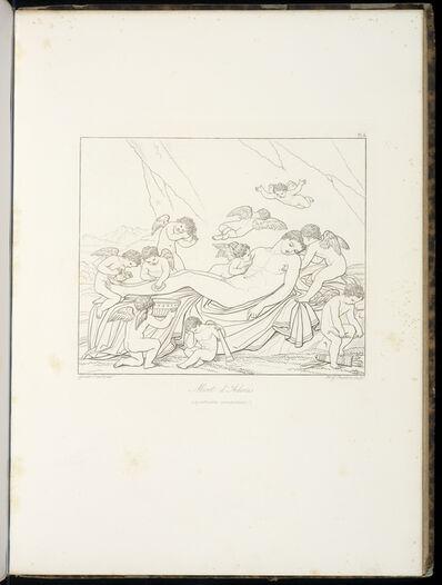 Anne-Louis Girodet-Trioson, 'Mort d'Adonis (quatrieme composition)', 1829