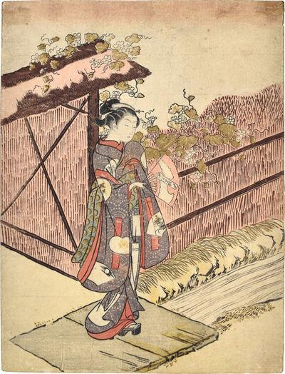 Suzuki Harunobu, 'Parody of the Yugao Chapter of the Tale of Genji', ca. 1766