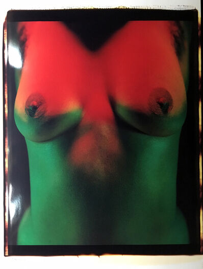 Lucien Clergue, 'P8642 B New York - part of a triptych', 1986