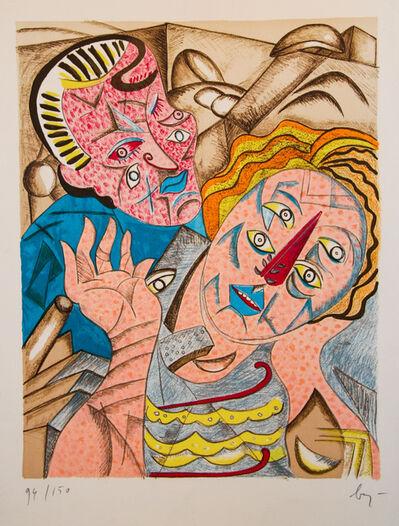 Enrico Baj, 'Il Bacio I', 1985