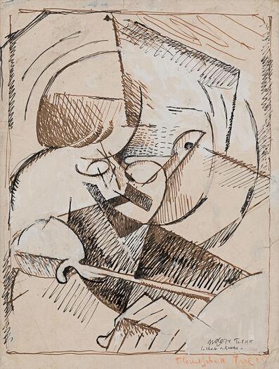 Albert Gleizes, 'Portrait de Florent Schmitt', 1915