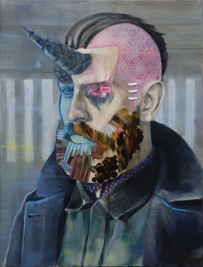 Akihiko Sugiura, 'Beard II', 2019