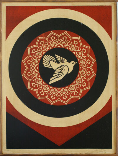Shepard Fairey (OBEY), 'Peace Dove', 2011