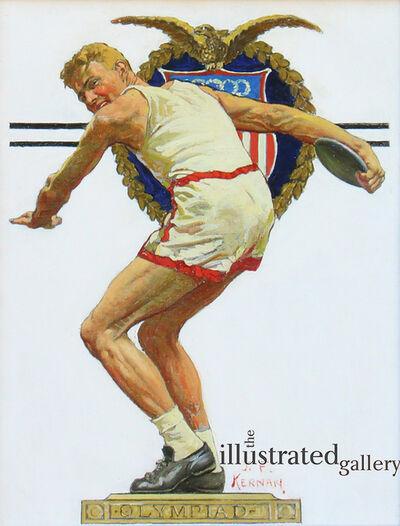Joseph Francis Kernan, 'Olympiad Discus Thrower'
