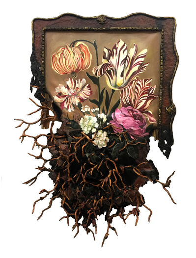 Valerie Hegarty, 'Flowers with Roots Elegy', 2019