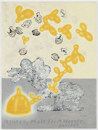 "Jörg Immendorff, '""Blinky: 'Paint for M. Werner'. Josepha""', ca. 2004"