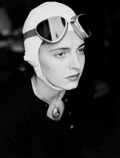 Ruth Orkin, 'Jinx in Goggles, Florence, Italy', 1951