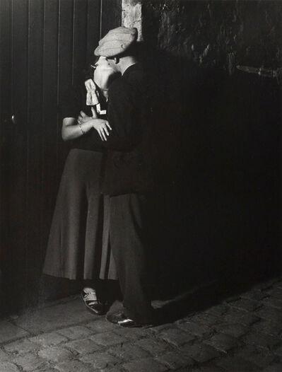 Brassaï, 'Couple d'Amoureux, Quartier Italie', 1931