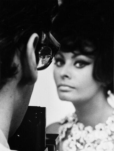 Tazio Secchiaroli, 'Richard Avedon e Sophia Loren, Shooting, Roma', 1966